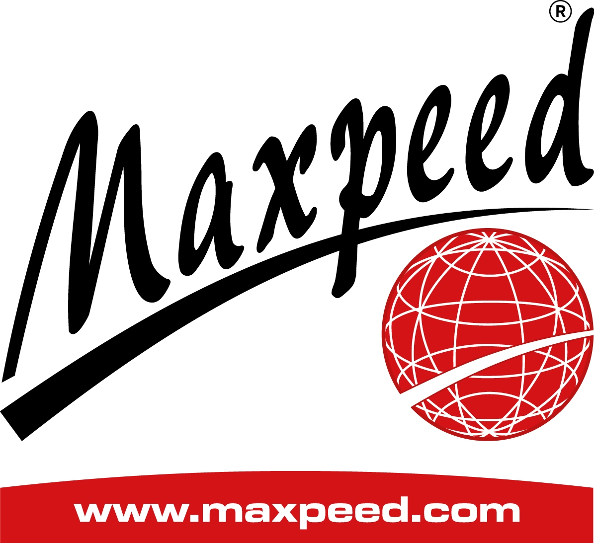 LOGOTIPO MAXPEED CON PÁG. WEB